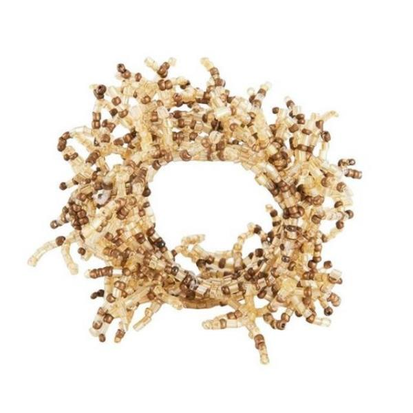 Where to find NAPKIN RINGS GOLD BEADED in Hamilton