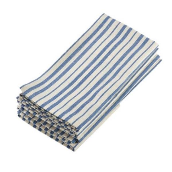 Where to find NAPKINS STRIPED FRENCH BLUE in Hamilton